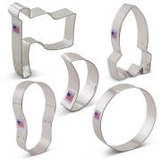 Man on the Moon Cookie Cutter 5 pc Set