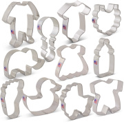 Baby Shower Cookie Cutter 11 pc Set