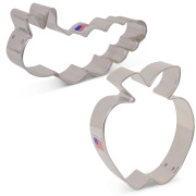 Bookworm / Caterpillar Cookie Cutter 2 pc Set