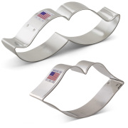 He Said / She Said Cookie Cutter 2 pc Set
