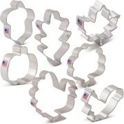 Fall Thanksgiving Cookie Cutter 7 pc Set