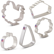 Thanksgiving Feast Cookie Cutter 5 pc Set