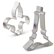 Vive La France Cookie Cutter 2 pc Set