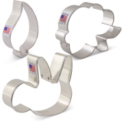 Sloth Cookie Cutter 3 pc Set