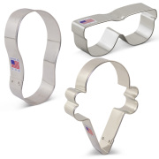 Summer Fun Cookie Cutter 3 pc Set