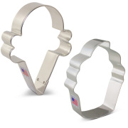Sweet Treats Cookie Cutter 2 pc Set