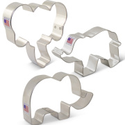 Elephants Cookie Cutters 3 pc Set