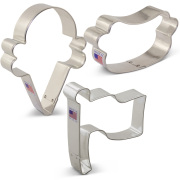 Summer Party Cookie Cutter 3 pc Set