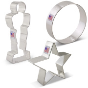 Movie Night Cookie Cutter 3 pc Set