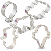 Festive Circus Cookie Cutter 5 pc Set