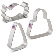 Trick or Treat Cookie Cutter 3 pc Set