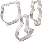 Cat Cookie Cutter 3 pc Set