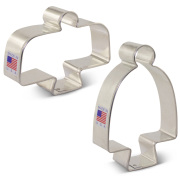 Cake Stand Cookie Cutter 2 pc Set