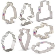 Bake Me a Cake Cookie Cutter 7 pc Set