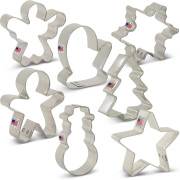 Mini Christmas Cookie Cutter 7 pc Set