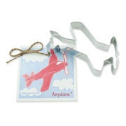 Airplane Cookie Cutter - Traditional