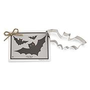Bat Cookie Cutter w/ card