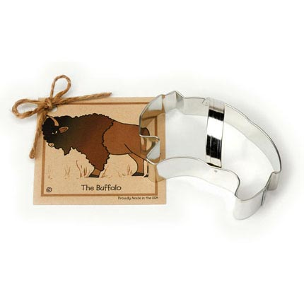 Buffalo Cookie Cutter - Traditional