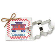 Caboose Cookie Cutter - Traditional