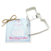 Wedding Cake Cookie Cutter - Traditional