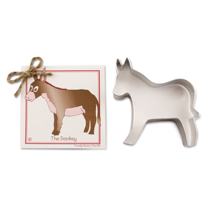 Donkey Cookie Cutter - Traditional