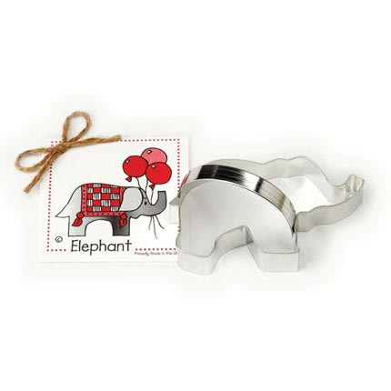 Elephant Cookie Cutter - Traditional