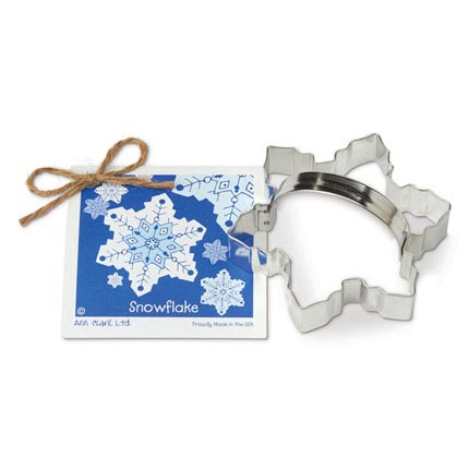 Snowflake Cookie Cutter - Traditional