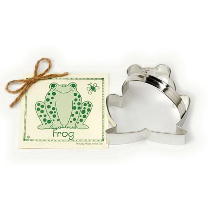 Frog Cookie Cutter - Traditional