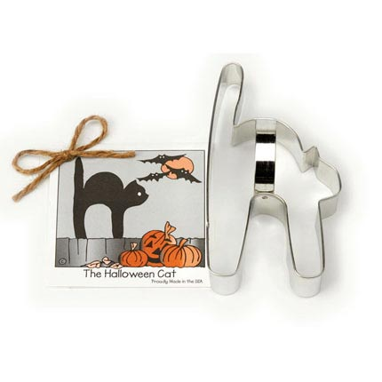 Halloween Cat Cookie Cutter - Traditional