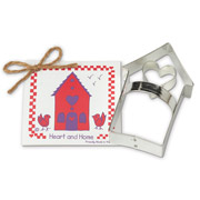 Heart 'n Home Cookie Cutter - Traditional