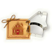 Gingerbread House Cookie Cutter - Traditional