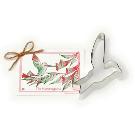 Hummingbird Cookie Cutter - Traditional