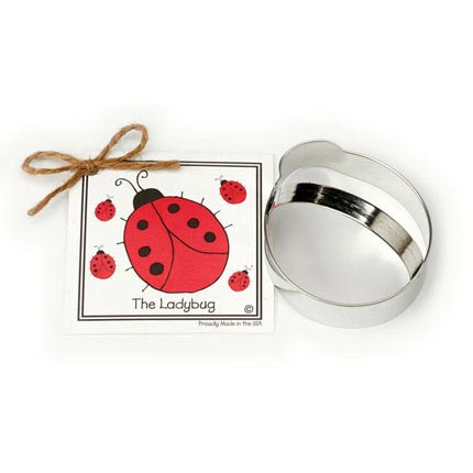 Ladybug Cookie Cutter - Traditional