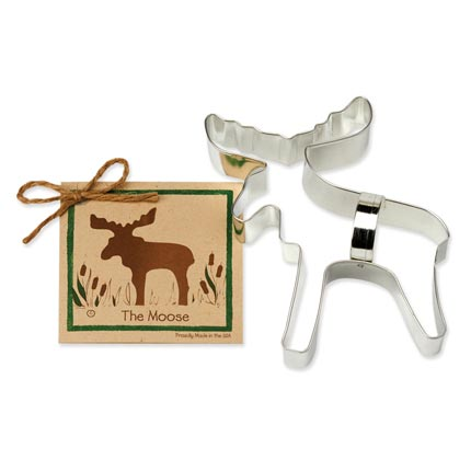 Moose Cookie Cutter - Traditional