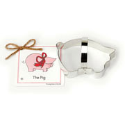Piggy Cookie Cutter - Traditional