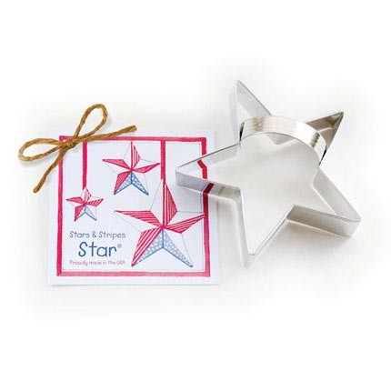 Stars & Stripes Star Cookie Cutter - Traditional