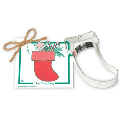 Stocking Cookie Cutter - Traditional