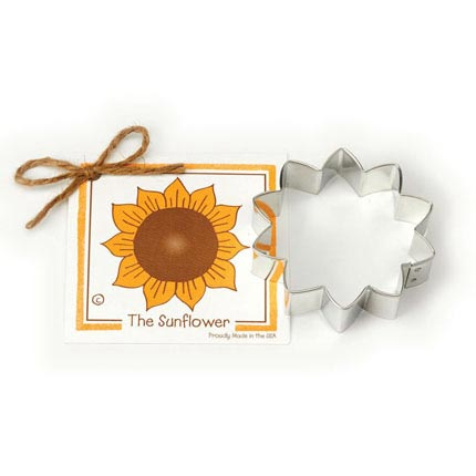Sunflower Cookie Cutter - Traditional