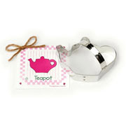 Teapot Cookie Cutter - Traditional