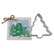 Christmas Tree Cookie Cutter - Traditional