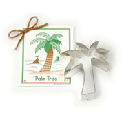 Palm Tree Cookie Cutter - Traditional