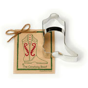 Cowboy Boot Cookie Cutter - Traditional
