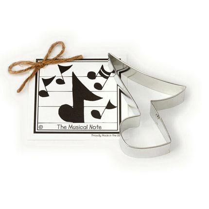 Musical Note Cookie Cutter - Traditional