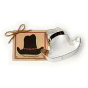 Cowboy Hat Cookie Cutter - Traditional