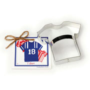 T Shirt Cookie Cutter - Traditional