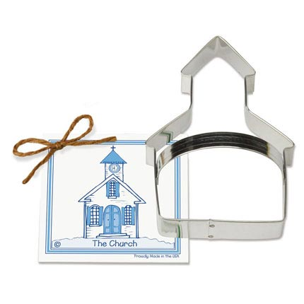 Church Cookie Cutter - Traditional