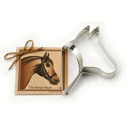 Horse Head Cookie Cutter - Traditional
