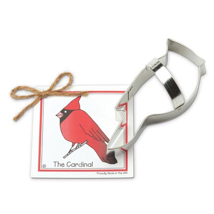 Cardinal Cookie Cutter - Traditional