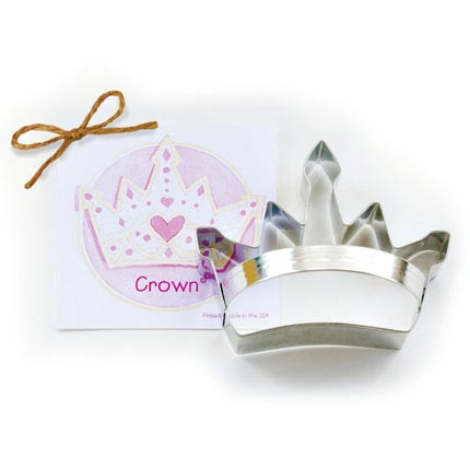 Crown Cookie Cutter - Traditional
