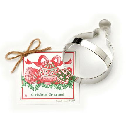 Christmas Ornament Cookie Cutter - Traditional